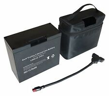 12V 30AH Lifepo4 Lithium Battery For Golf Buggies - Panasonic cells