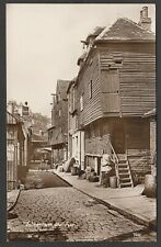 Postcard Folkestone Kent early view of Old Town RP by Upton's Bazaars