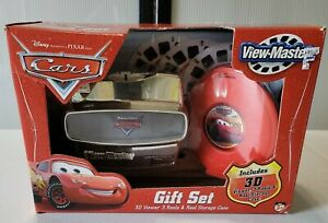 Disney Pixar Cars View Master Gift Set Brand New RARE 3D Viewer Reels Storage