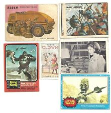 Vintage Mixed Trading Cards, 6 card lot(3),