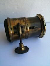 Vintage Magic Lantern, Brass Petzval Lens-VGC!