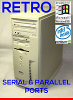 Dell Business Industrial Pentium 3 Computer Win95 98 Windows 98 MS-DOS CNC