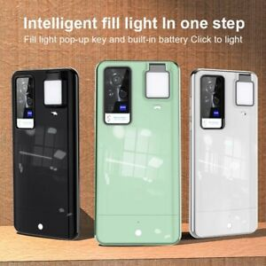 Fill Light LED Flash Selfie Live Protective Phone Case For Samsung S21Ultra S20+