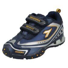 Scarpe blu marca Diadora per bambini dai 2 ai 16 anni