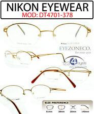 EyezoneCo NIKON Titanium DURATITAN Eyeglass DT4701-378