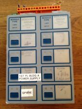 Notifier Icm-4 & Ice-4 8 Indicating circuit module & expander 4 5000 Fire Alarm