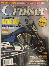 Motorcycle Cruiser Magazine April 2007 Victory's New View Kingpin Tour on the Ro