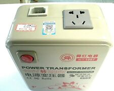 3000 WATT POWER TRANSFORMER - CONVERTS 220 VOLT MACHINES TO USA 110 VOLT USA USE