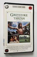 Greystoke The Legend of Tarzan VHS Warner Home Video 1984 Clamshell HTF