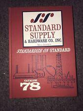 Vintage Standard Supply & Hardware Co. New Orleans Catalog No 78 1974? 00004000
