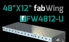 """CertiFlat FW4812 48""""X12"""" FabWing Extension Table for Pro & FabBlock Tables - HD"""