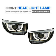 Genuine LED Projection Front Head Light Lamp LH RH for KIA 17-19 Picanto Morning