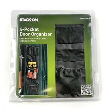 4 Pocket Fabric Door Organizer for Stack-On Long-Gun Cabinets SPAO-148