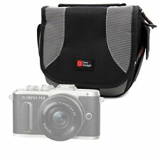 Portable Carry Case with Padded Interior for Olympus E-Pl8 Camera