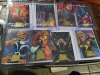 2008 Upper Deck Marvel Masterpieces Heroines 8 Of 9 For Set