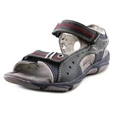 Sandales bleues en cuir pour garçon de 2 à 16 ans