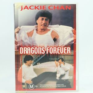 Dragons Forever Jackie Chan Martial Arts Kung Fu DVD Good Condition