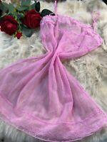 Sisi pink Camisole Top sleepwear nightwear size XL