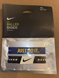 """NIKE Reversible Baller Bands One Pair Size M/L 7-8"""""""