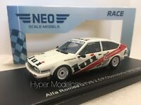 NEO SCALE MODELS 1/43 Alfa Romeo Alfetta Gtv6 2.5 #6 DPM German 1986 NEO46650