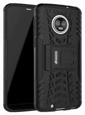 Dual Layer Heavy Duty Hybrid Warrior Shockproof Hard Case for Motorola Moto G6