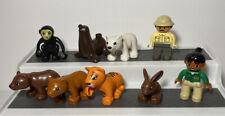 Lego Duplo Zoo Animal Lot