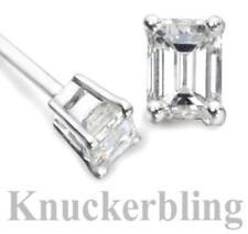 Platinum IF Fine Diamond Earrings