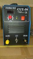 Plasma Cutter 50AMP CUT50 Inverter 220V Voltage & 35 Nickel Plated Consumables *