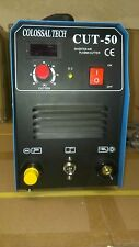 Plasma Cutter 50AMP CUT50 Inverter 220V Voltage & 35 Nickel Plated Consumables *