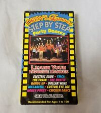 Drew's Famous Step by Step Party Dances VHS Tape Learn Your Favorite Dances