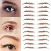 6D Hair-like Eyebrow Tattoo Sticker False Eyebrows Waterproof Lasting Makeup 1PC