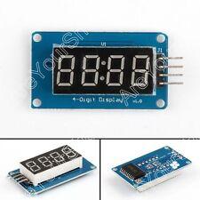 1x Digital Tubo LED Monitor Módulo Con Clock Display TM1637 Para Arduino
