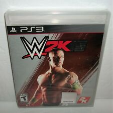WWE 2K15 (Sony PlayStation 3, 2014) Band New & Sealed PS3