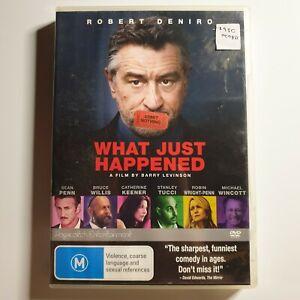 What Just Happened   DVD Movie   Robert De Niro, Bruce Willis   Comedy/Drama