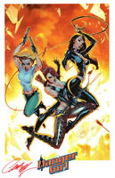J SCOTT CAMPBELL DANGER GIRL SDCC 2014 SIGNATURE EDITION ART PRINT #2