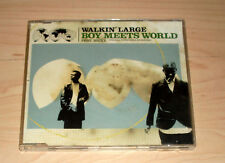 CD Maxi-Single - Walkin' Large - Boy Meets World feat Brixx
