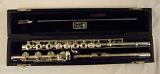 WILLIAM S. HAYNES HANDMADE FLUTE SOLDERED TONE HOLES INLINE G LOW B FRESH REPAD