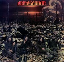 ARMAGEDDON Armageddon 1975 UK silver A&M vinyl LP EXCELLENT CONDITION