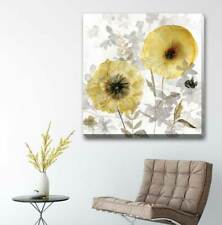 Transparent Flower Stretched Canvas Print Framed Wall Home Decor Painting F119