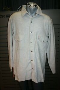 Chesterfield Homme Flanelle Chemise 5710-7200 Gris Ii. Choix Neuf Vintage 90er