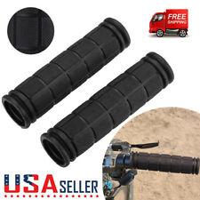 1 Pair Bicycle Mountain Bike Cycling Handlebar Anti-Slip Soft Rubber Hand Grips