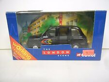 Corgi - London Taxi - Dial A Cab (Black)