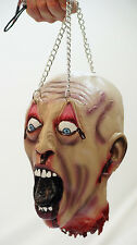 Evil-Halloween-Horror-Re enactment-Medieval Torture SEVERED HEAD WITH CHAINS