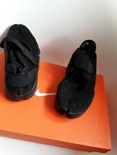 Nike Air Rift Trainers size 8 limited edition sandals Black out