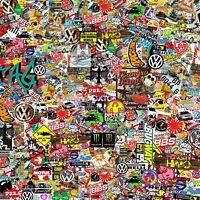 Vw Stickers Bomb sheet Euro Vinyl Decal Vauxhall BBS honda Dub wrap volkswagen