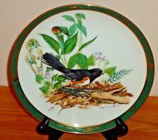 "Towhee Songbirds of Roger Tory Peterson 8.25"" Danbury Mint Plate"