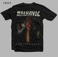 MALHAVOC-Punishments-Goth/Industrial Band-Voivod,-Skrew, T-shirt Sizes S to 7XL