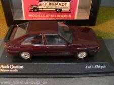 1/43 Minichamps Audi Quattro 1981 tizianrotmetallic