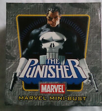 Marvel Bowen Punisher mini bust/statue with box VGC