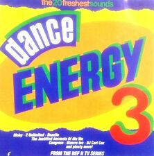 DANCE ENERGY 3 - 1 X CD UNMIXED OLDSKOOL 91 DANCE RAVE CLASSICS - CD CDJ DJ